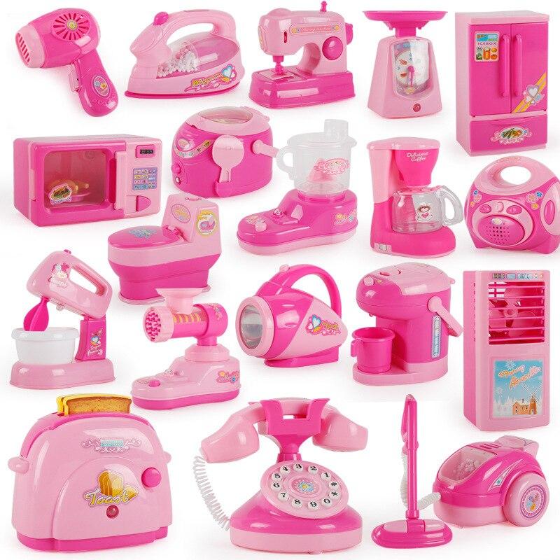 Бытовая техника мини-размера, кухонные игрушки, детские игрушки для ролевых игр, кухонные аксессуары, игрушка, тостер, игрушки для девочек
