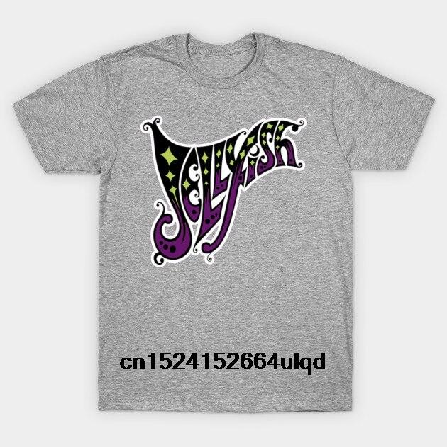 100% Cotton O-neck Custom Printed Tshirt Men T shirt jellyfish logo - Jellyfish Band Sturmer Manning Bellybutton Women T-Shirt