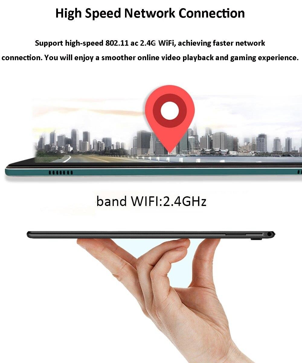 BDF X20 10.8 Inch Tablet PC 2560x1600 HD 4GB RAM 64GB ROM MTK6797 Deca Core 13MP Camera GPS Bluetooth 4G Phone Call WiFi enlarge