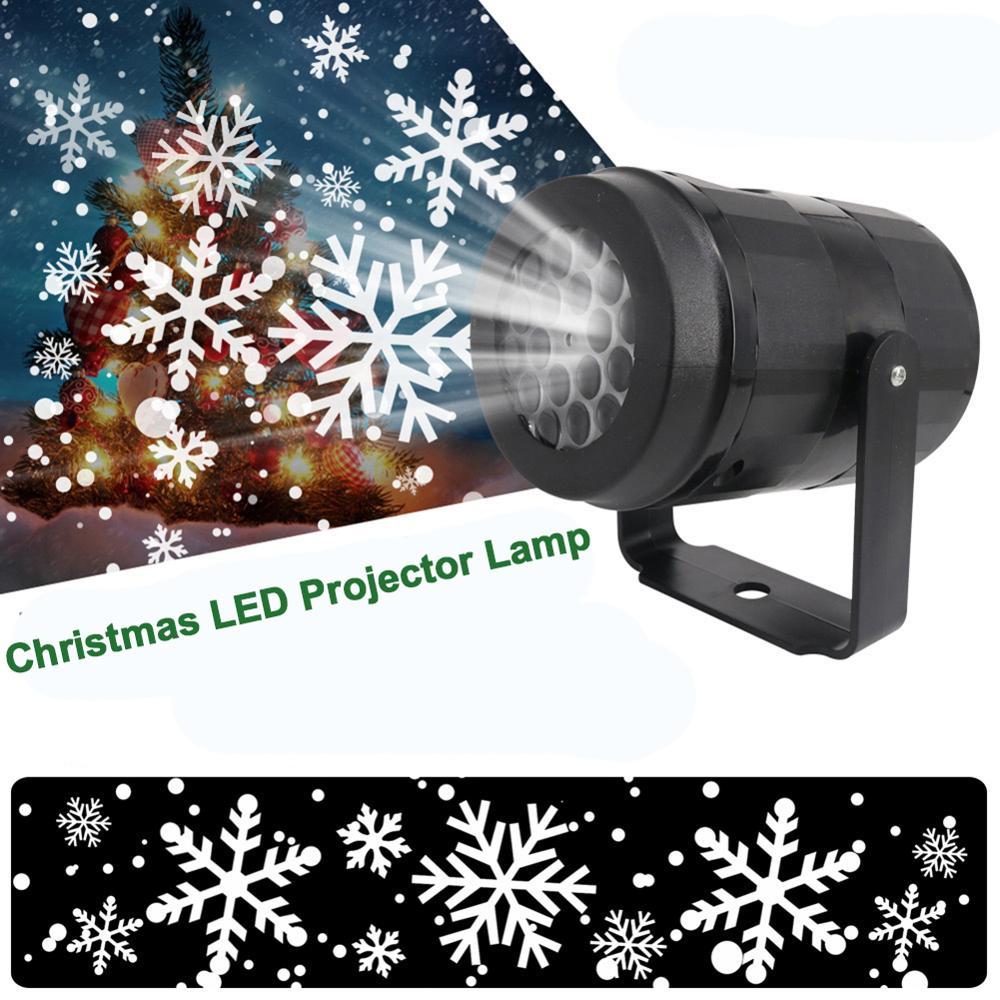 Projetor de luzes de led para decoração, luz projetora para festival, festa, decoração da casa, luz noturna, floco de neve, natal, para decoração
