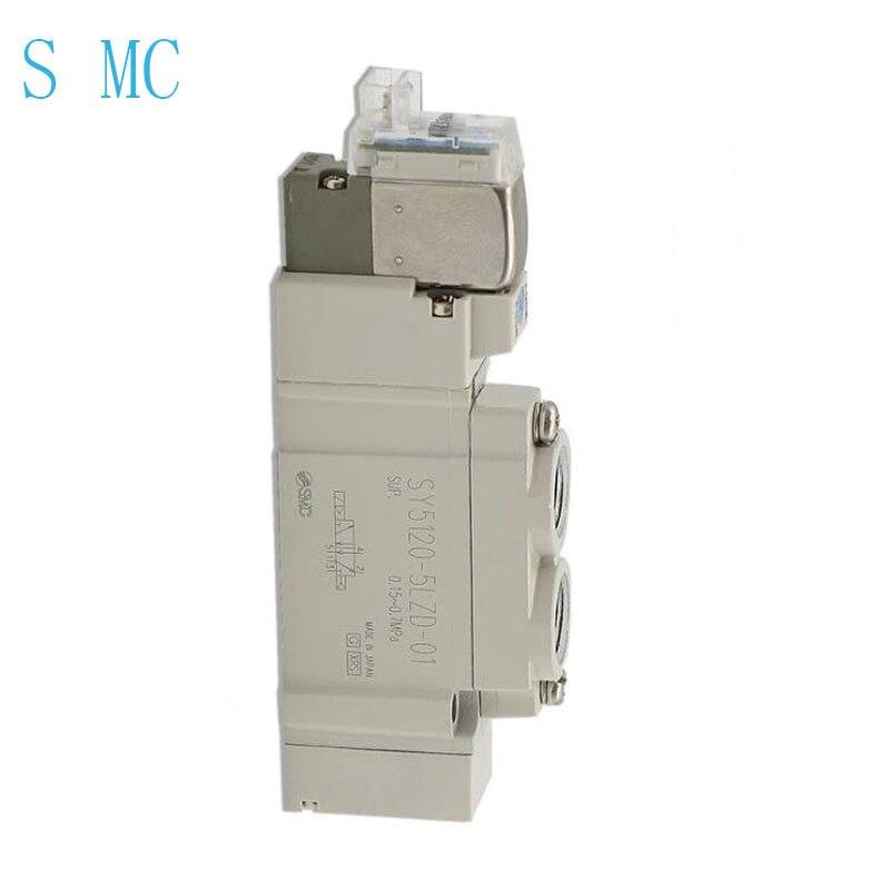 Válvula solenóide do ponto s mc SY5120-5LZD-01 nobrand