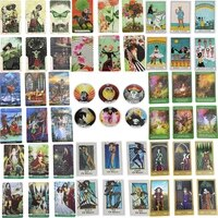 english version 27 sets of oracle tarot card waiter mystery comic tarot card solitaire divination destiny party game pdf manual