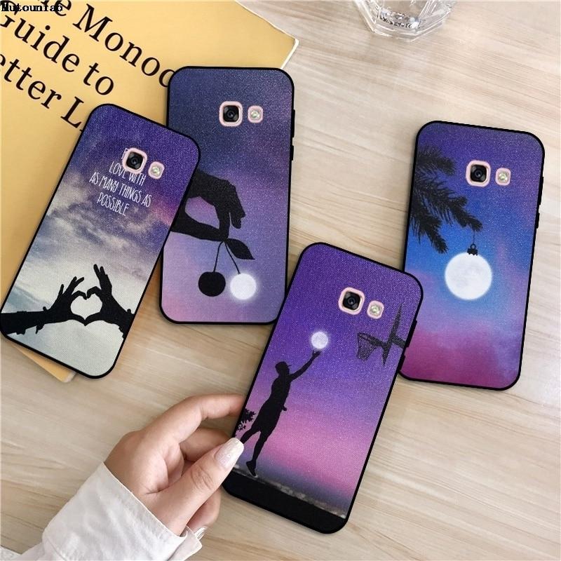 Mutouniao Light #1 Silicon Soft TPU Case Cover For Samsung Galaxy A3 A5 A6 A7 A8 A9 Plus Pro 2015 2016 2017 2018