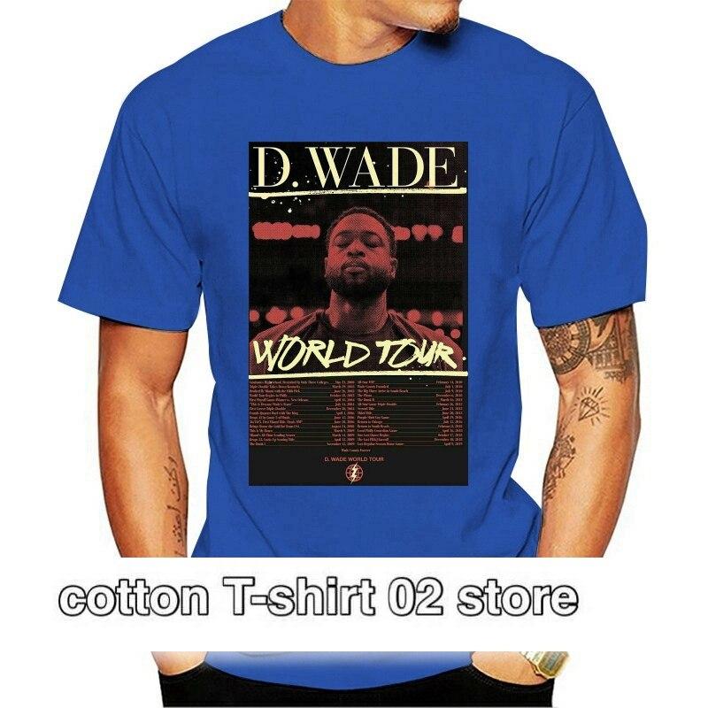 Camiseta de la gira mundial de Dwyane...