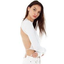 Sexy Nabelschnur Taille Mode frauen T-shirts Einfarbig Schlank-Fit Bandage Alle-Spiel T shirt Frauen kleidung Bodenbildung Shirt