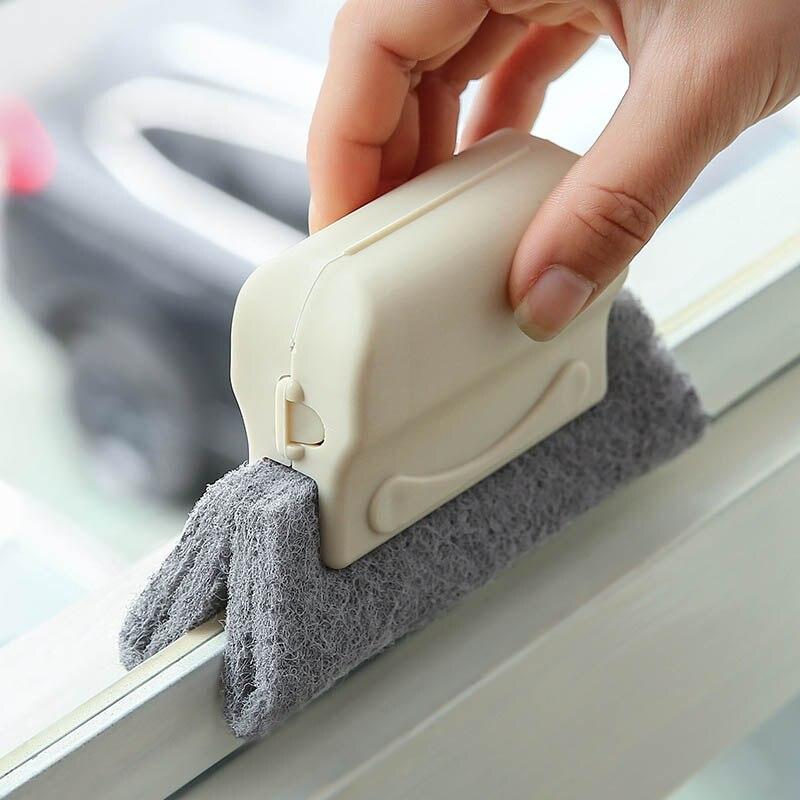 Рекламные окна паз щетка для очистки окон очиститель для слотов мини Desktope инструменты для чистки Кухня Чистящая салфетка Accessiories