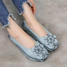 2020 mocassins de mode pour femmes dames couture femme Slip On fleur Mary Janes chaussures femmes crochet boucle chaussures plates femme chaussures antidérapantes