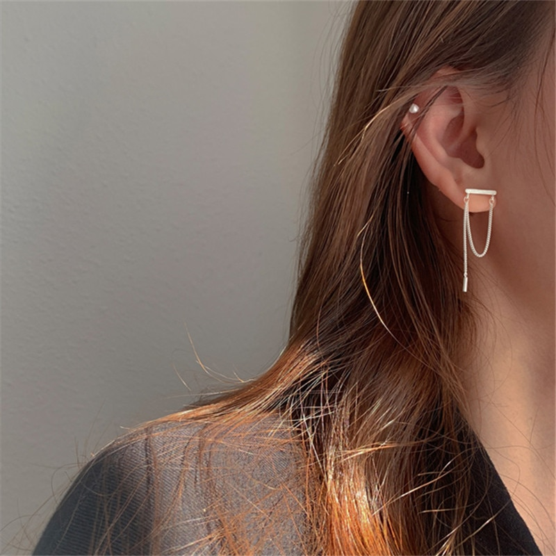 925-стерлингового-серебра-кисточкой-Шпилька-Сережка-для-пирсинга-для-женщин-вечерние-ювелирные-изделия-модные-серьги-в-форме-аксессуары
