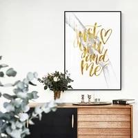 Affiche en noir et blanc pour Couple  amour doux  peinture sur toile murale minimaliste  Alphabet  affiche nordique  decoration de maison Unique