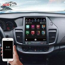 Aucar Tesla Android 9 multimidia autoradio gps navigation pour Honda Accord 2013-2017 Android 9 1 din autoradio lecteur stéréo