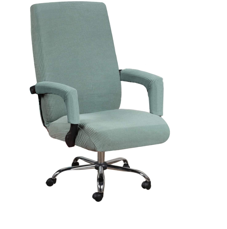 بلون مرونة مكتب رفع كرسي الكمبيوتر غطاء مسند ذراع غطاء مقعد مكافحة القذرة بوس الدورية كرسي مقعد غطاء مسند ذراع