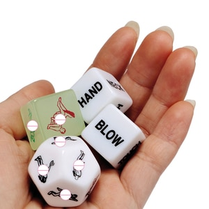 Funny Sex Dice 12 Sides Russian Dice Russian Sex Dice Sex For Couples Acrylic Erotic Toy Adult  Games SM Sex Toys For Women Men