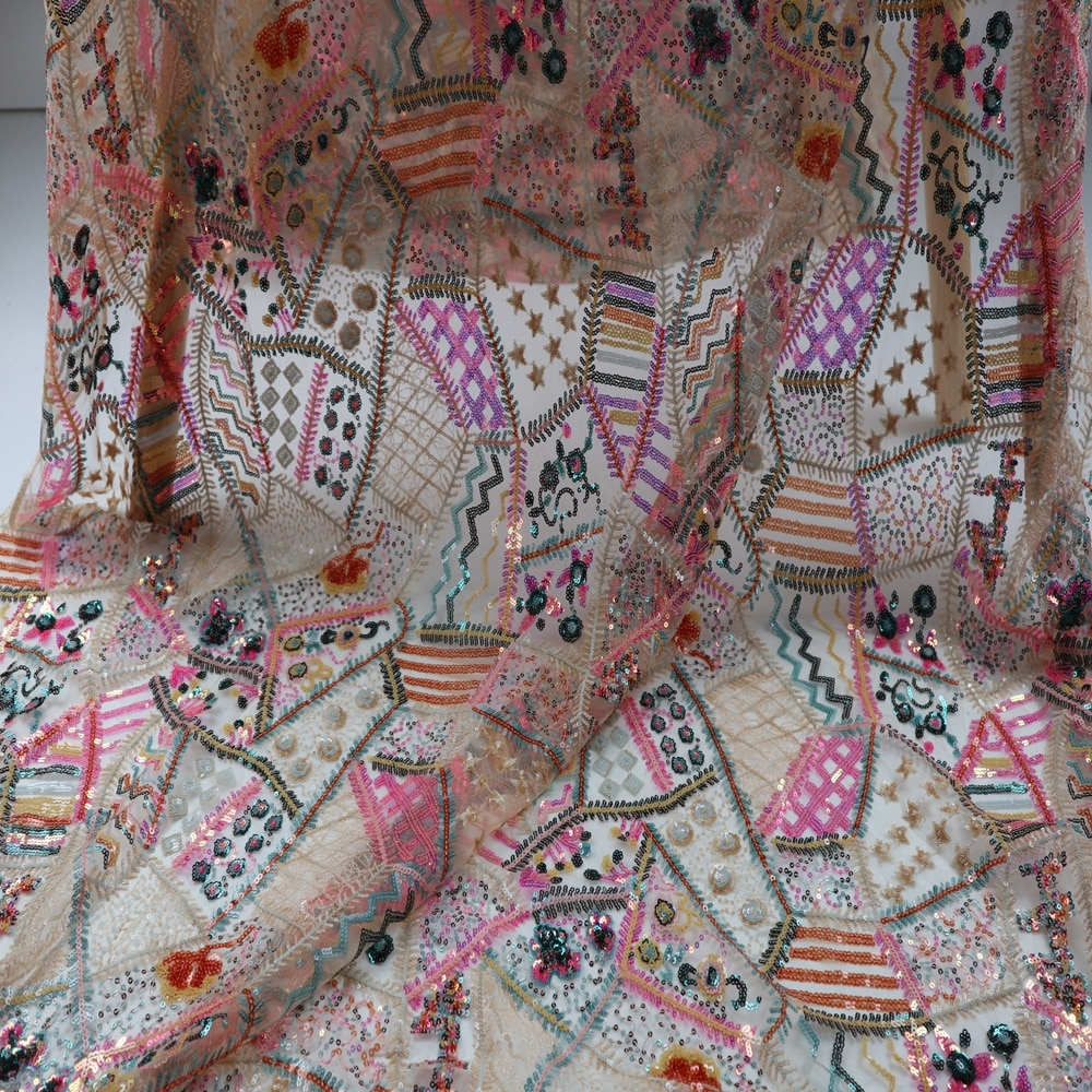 Latest French Lace Fabric 2021 High Quality Lace African Lace Fabric Nigerian Lace Fabric 5yards Tulle Lace Fabric Dress Wedding latest french lace fabric 2021african lace fabric nigerian lace fabric 5yards embroidered sequinstulle lace fabric dress wedding