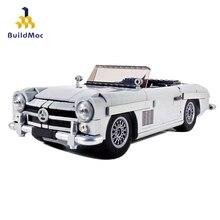 Construction technique 37263 10262 mercedes-benz 300SL Hypercar Roadster modèle Kit blocs de construction compatibles Lepining briques de voiture RC