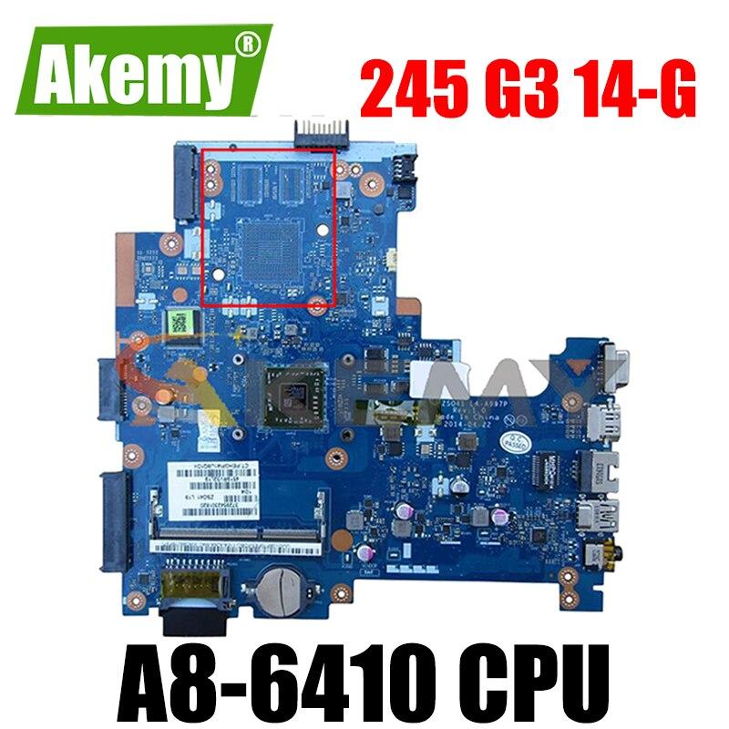 ل HP بافيليون 245 G3 14-G LA-A997P 765119-001 AM6410 دفتر اللوحة الرئيسية اختبار كامل 100% العمل