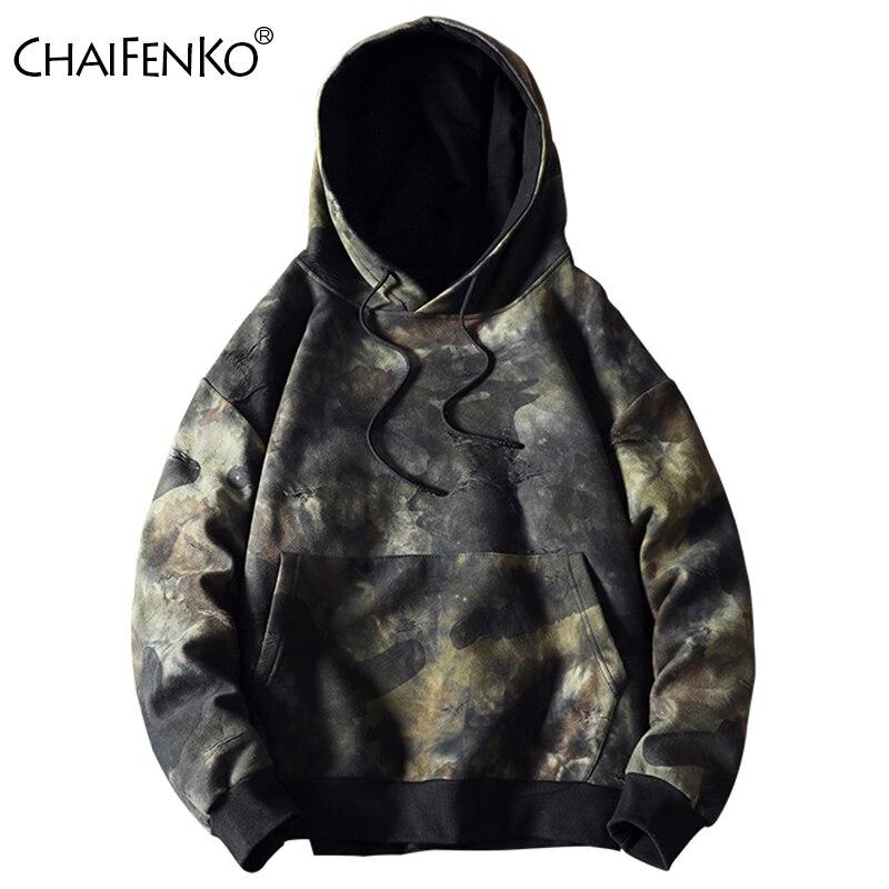 Chaifenko hip hop hoodies dos homens 2020 nova moda outono camuflagem casual moletom masculino japonês harajuku streetwear moletom com capuz