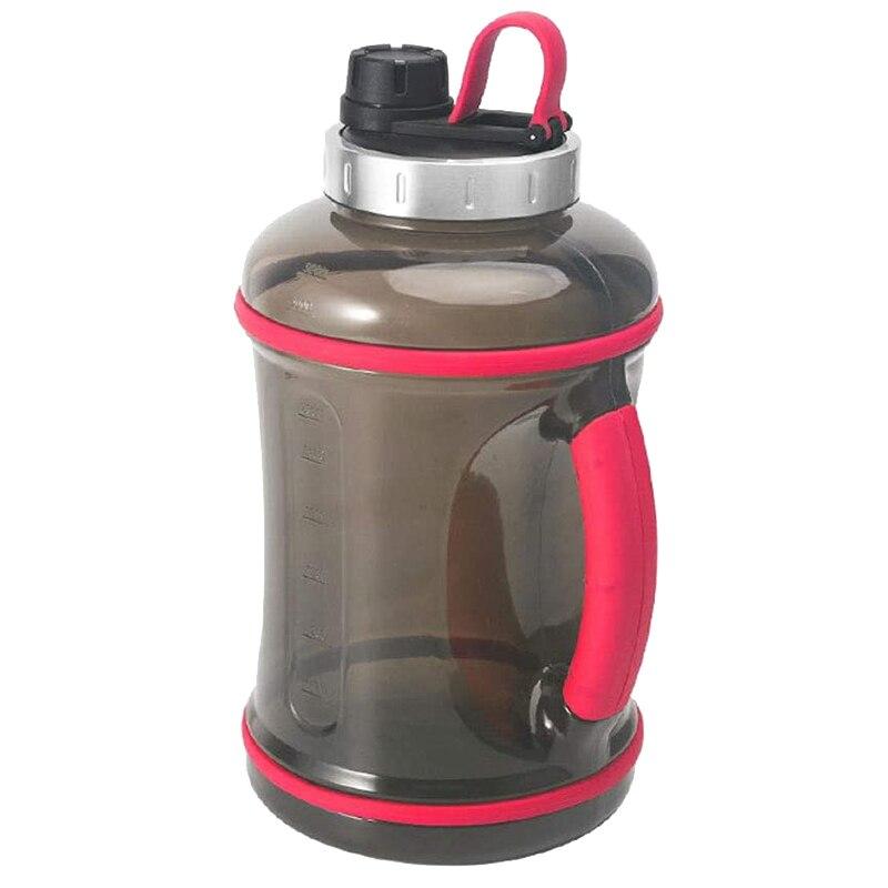 Botella deportiva portátil de gran capacidad de 3,2 L, para actividades al aire libre, acampada, gimnasio o Fitness