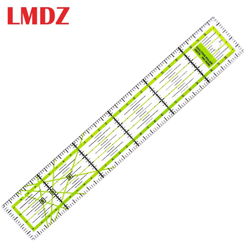 1pc patchwork ruler diy sewing tools accessories ultrathin soft 21cm sewing patchwork rulers quilting tools handmade LMDZ 1Pcs 5*30cm Sewing Tailor Ruler Patchwork Feet Tailor Yardstick Cutting Quilting DIY Sewing Tools stationery drawing Ruler