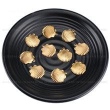 10-1000 шт., подвески для ювелирных изделий, оптом, из латуни, с ярким корпусом, для изготовления сережек и ожерелий