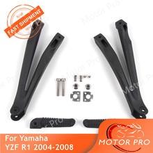 Rück Fußrasten Für Yamaha YZF R1 2004 2005 2006 2007 2008 YZF-R1 Motorrad Passagier Fußrasten Pedal Klammern 04 05 06 07 08