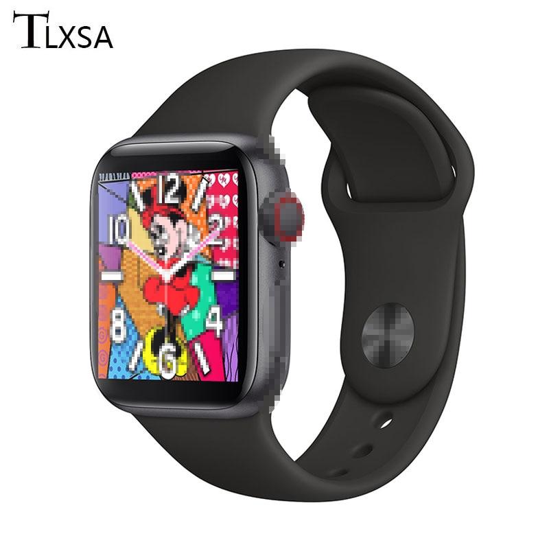 אופנה גברים חכם שעון Bluetooth שיחת Whatch 1.54 מגע מלא מסך ספורט כושר אישה Smartwatch אנדרואיד IOS PK IWO 8 12 13