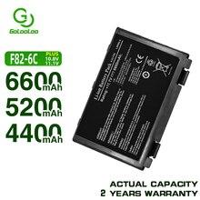 Golooloo Batteria per Asus K40 K42J K42 k50c K51 K60 K61 A32-f82 A32-F52 F52 A32 F82 k40in K50 K50iJ K51 k50AB k50ID k50iJ N82