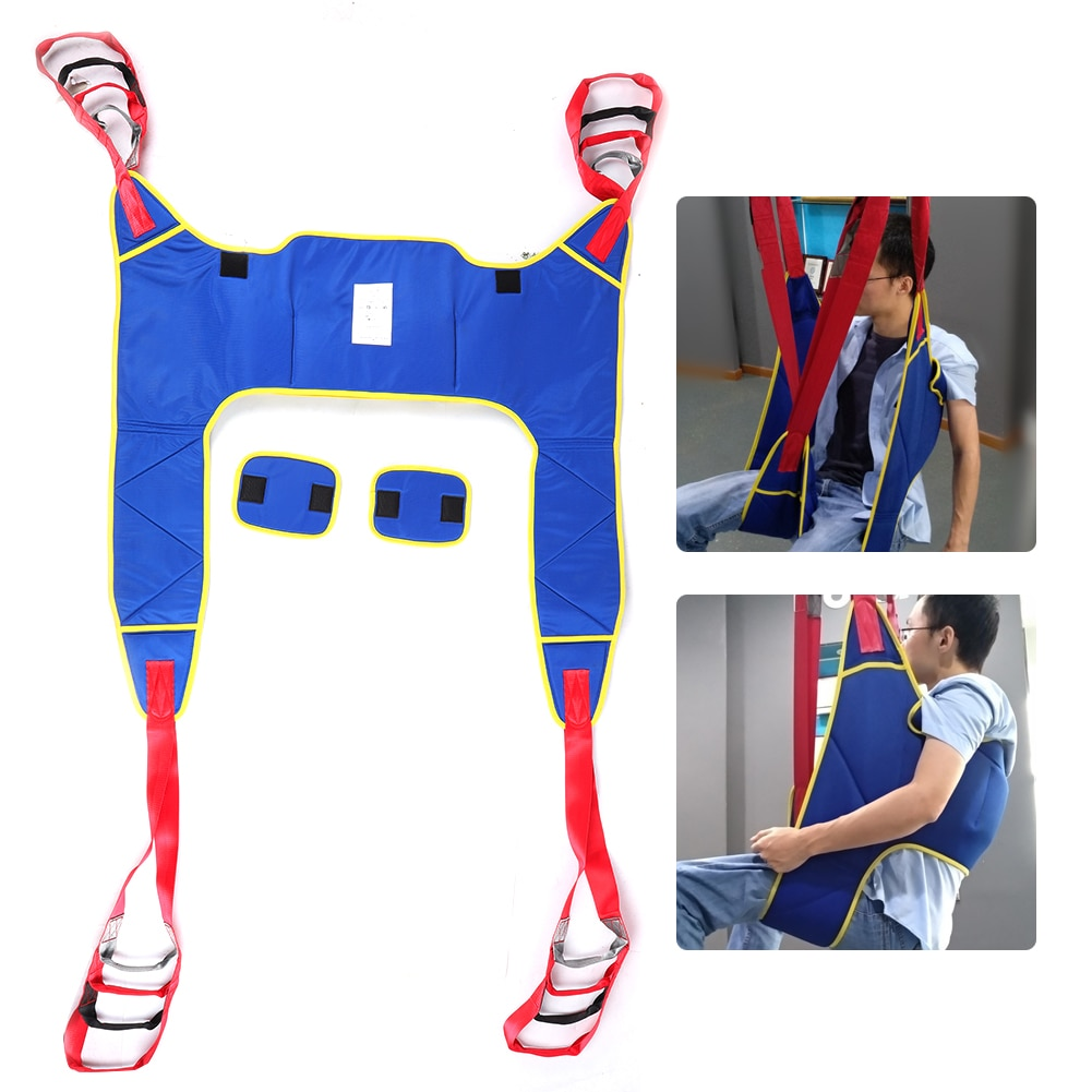 Full Body Patient Lift Slings Drive Medical Thigh Hip Waist Lumbar Back Support Standing Aids Leg Trainer Exercise Transfer Belt