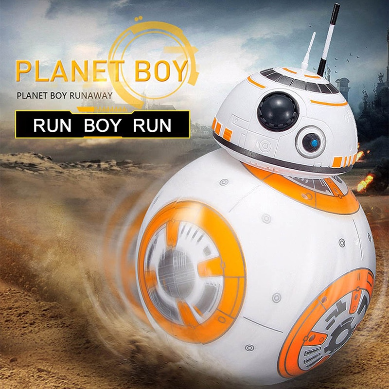 Upgrade 20.5cm Remote Control Robot BB-8 Ball RC Intelligent Robot 2.4G BB8 With Sound Action Figure