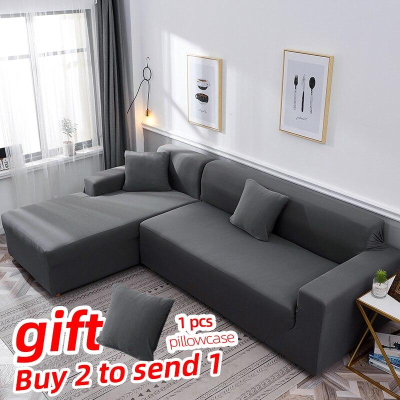 Funda clásica premium gris elástica para sofá, funda de sofá para sala de estar/funda deslizante, funda completa para sofá, funda de sofá tipo diván lounge