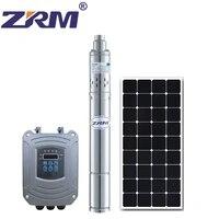 3 inch 0 25w 24v dc screw submersible solar water pump