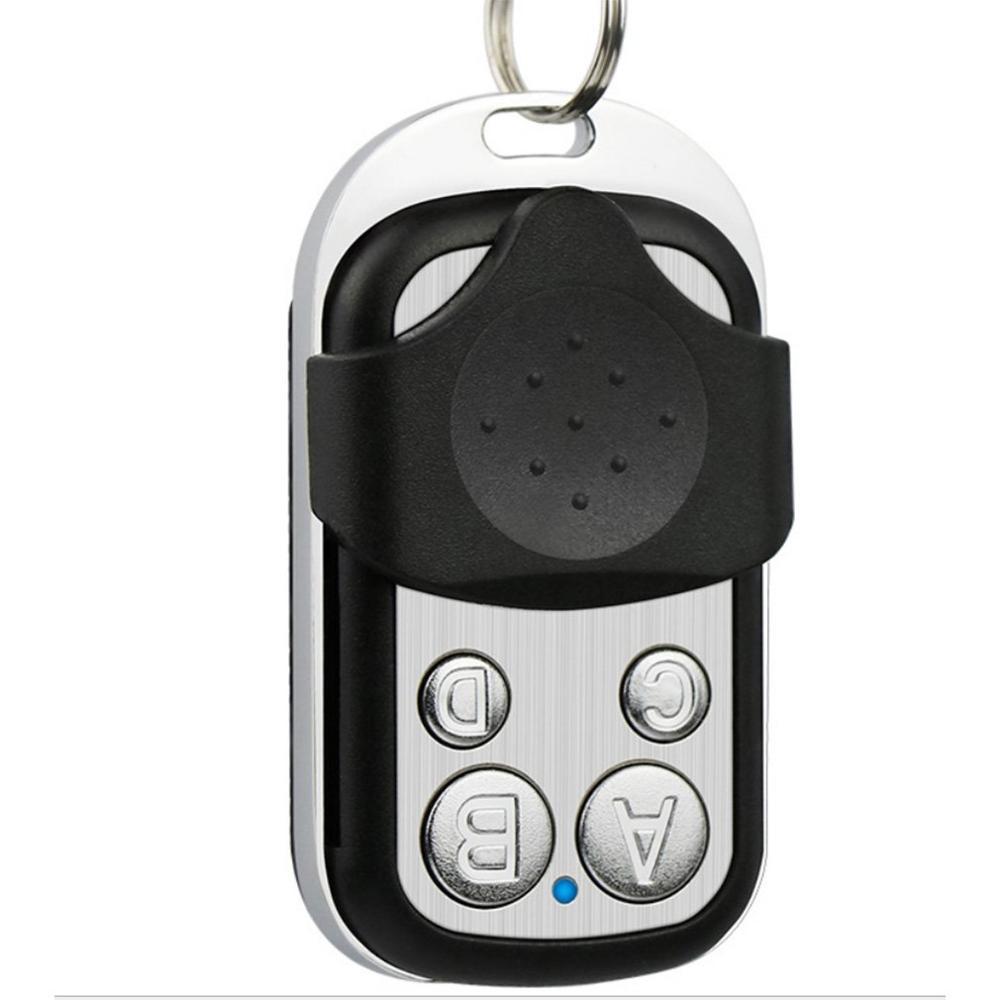 Пульт дистанционного управления для дверей гаража, 4-канальный пульт управления для дверей гаража, 433 МГц