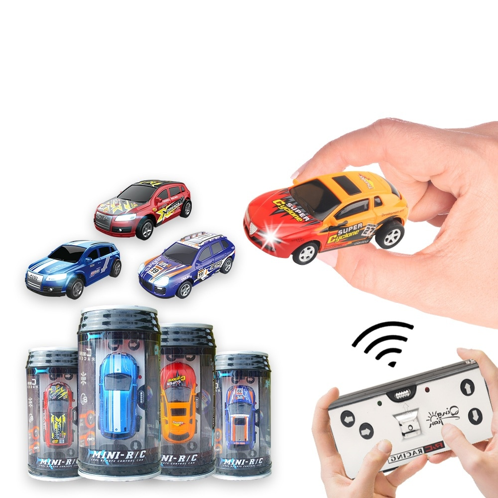 2.4G Mini Radio Remote Control Car Coke Can Micro Racing RC Car Kids Birthday Gift Child Toys High Quality enlarge