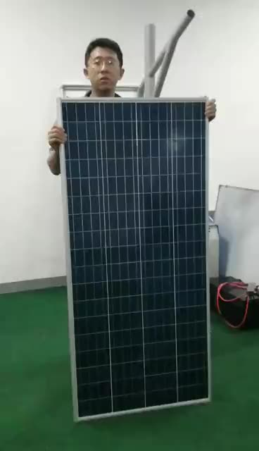 Energy saving modern lamp 20w 30w 40w 60w 80w 100w solar led solar street light with motion sensor in the USA