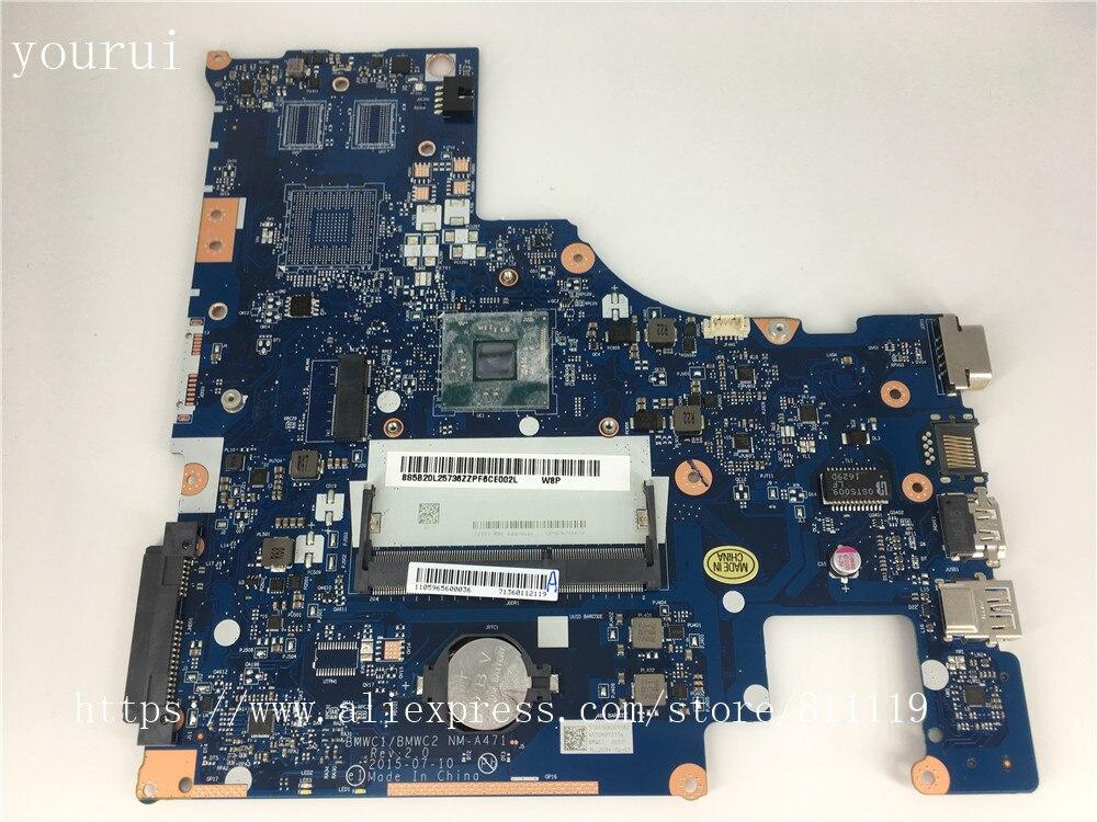 Yourui BMWC1/BMWC2 NM-A471 اللوحة الرئيسية لينوفو 300-15IBR اللوحة الرئيسية مع N3160u وحدة المعالجة المركزية اختبار موافق