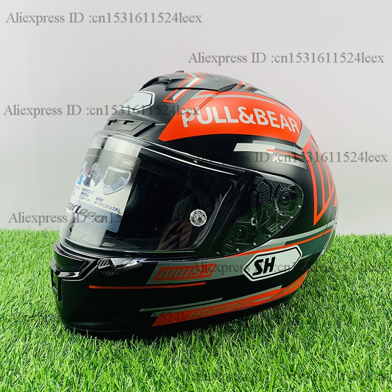 Casco de moto de cara completa X14 93 Marquez, casco negro de hormiga, casco de Motocross de carreras