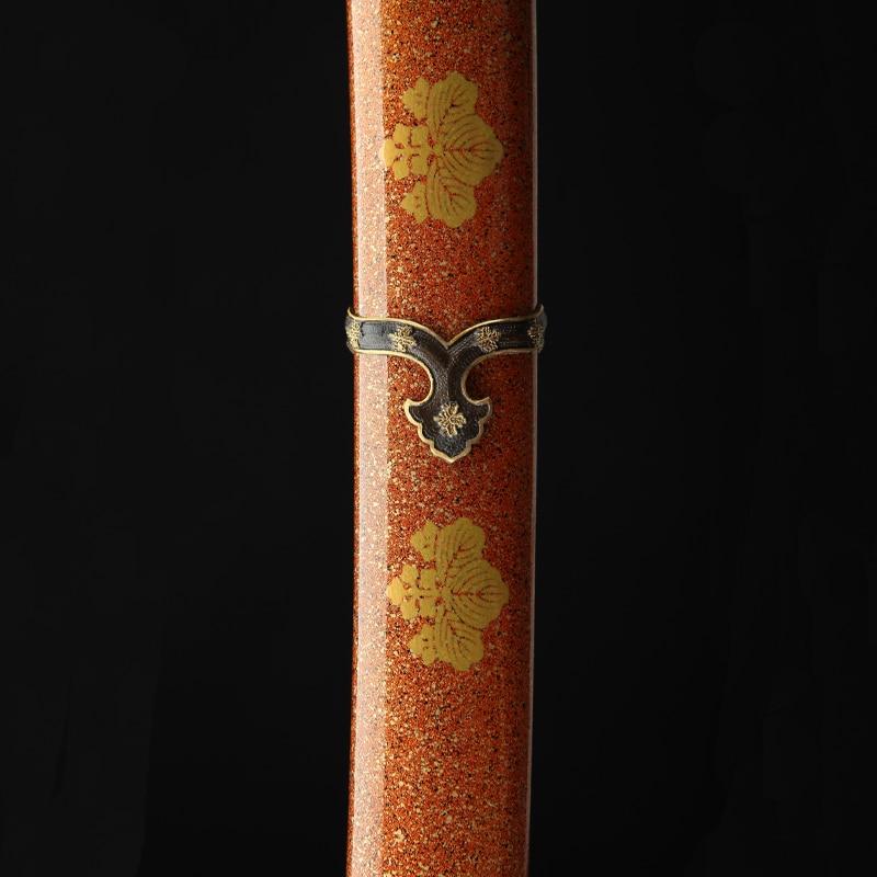 Top Quality Japanese Samurai Katana Folded Steel Clay tempered Blade Razor Sharp Real Tachi Swords handmade Full Tang