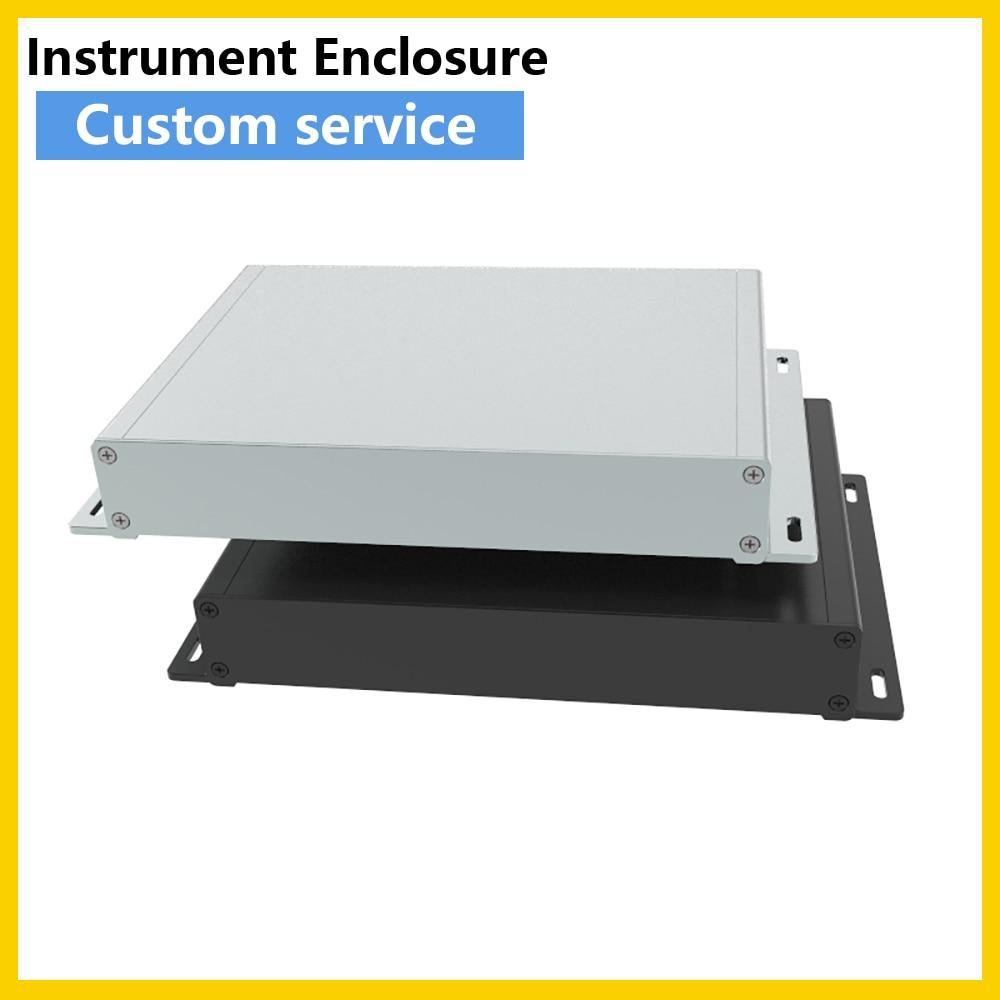 Alu علبة معدنية علبة توزيع إلكترونيات G02 292*45 مللي متر الكهربائية ODF مرفقات الالكترونيات بأكسيد لوحة دارات مطبوعة