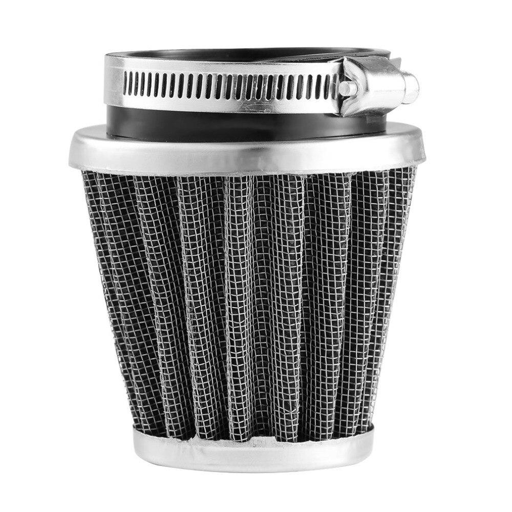 Universal 35/39/42/44/48/50/52/54/60mm motocicleta cabeça cogumelo filtro de ar braçadeira no filtro de ar mais limpo para para