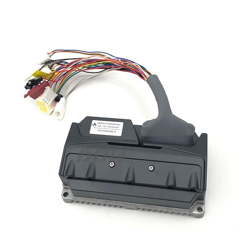 LingBo LBMC72122 HK5A V5 48 فولت 60 فولت 72 فولت 45A 1200 واط PMSM FOC BLDC وحدة تحكم المحرك ل E-سكوتر Ebike دراجة نارية