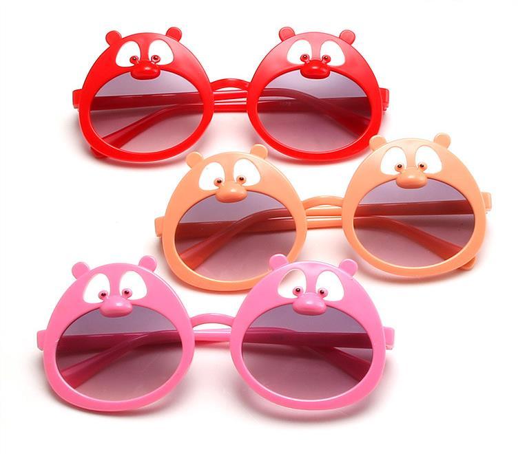 New Baby Kids Sunflower Sunglasses Novelty Toys Child Boys Girls Shades Baby ANTI-UV Sun Glasses Out