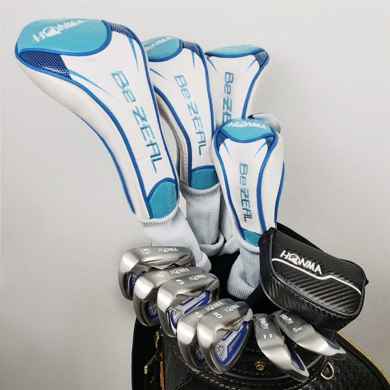 New Women Golf Clubs HONMA 525 Complete Set HONMA Golf driver.wood.irons.putter Graphite Golf shaft No bag