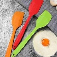 1pcs kitchen silicone cream butter cake spatula batter scraper brush butter mixer cake brushes baking tool kitchenware
