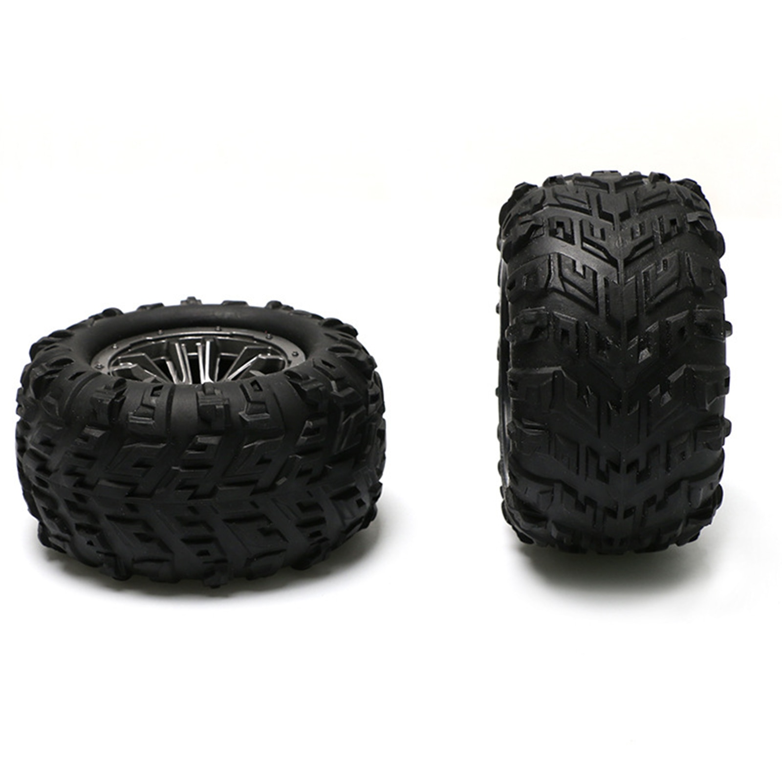 Rubber Tyres Wheel Assembly for for Feiyue 1:12 FY01 FY02 FY03 FY04 RC Cars