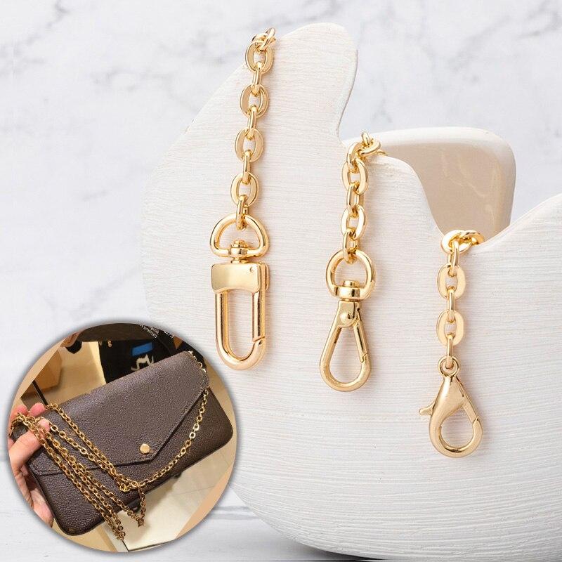 Цепочка для сумок, аксессуары для сумок, аксессуар из металлического сплава, цепочка для женских сумок, ремешок на ремень