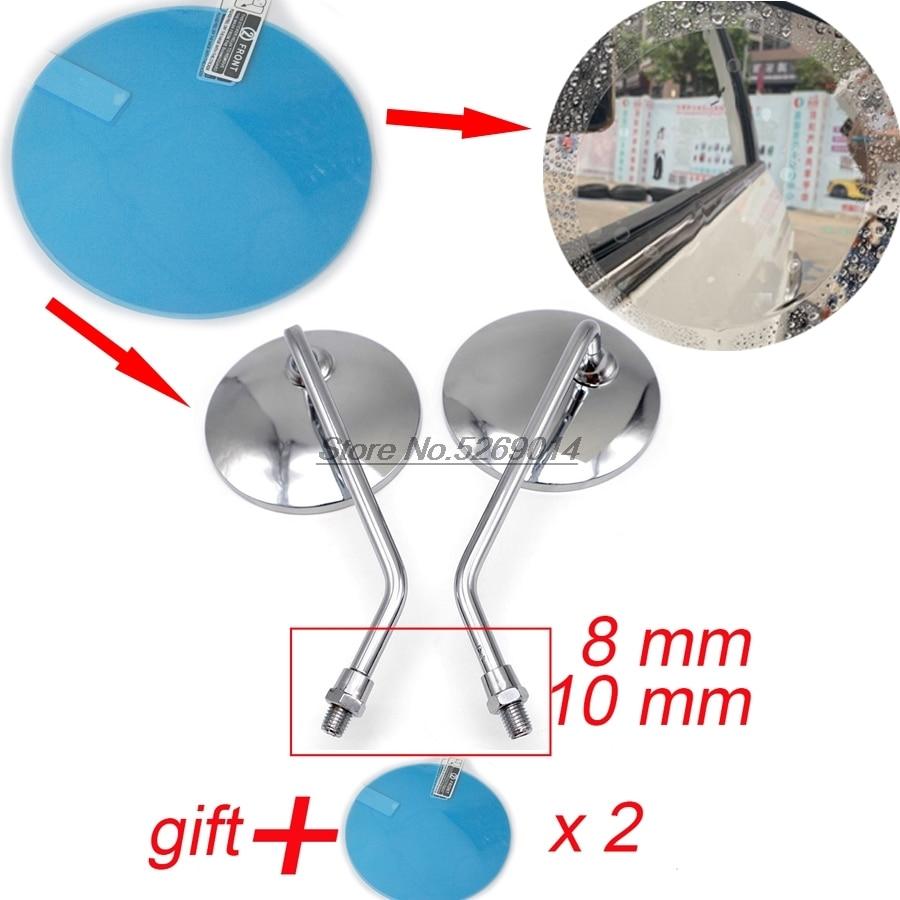 Original with waterproof cover Motorcycle Mirror Side mirror for 300 Cf Moto Nk Fz6N Accessories Ktm Davison 110Cc Honda