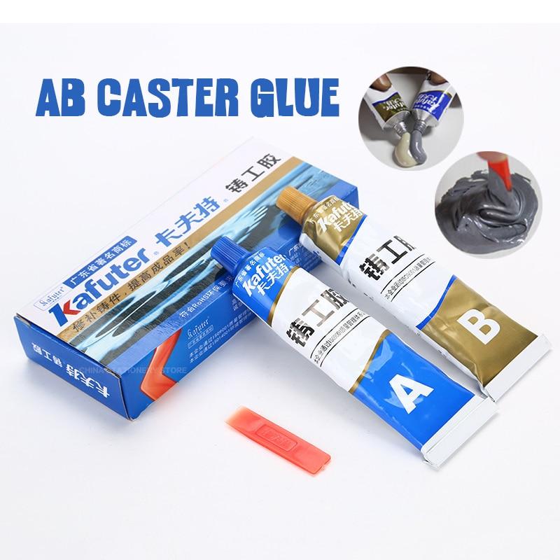 kafuter AB Caster Glue Casting Adhesive Industrial Repair Agent Casting Metal Cast Iron Trachoma Stomatal Crackle Repair
