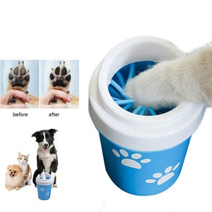 Dog Paw Cleaner Cup for Small Large Dogs Pet Feet Washer Foot Wash Tool Portable Pet Cat Dirty Paw Cleaning Cup Soft Silicone