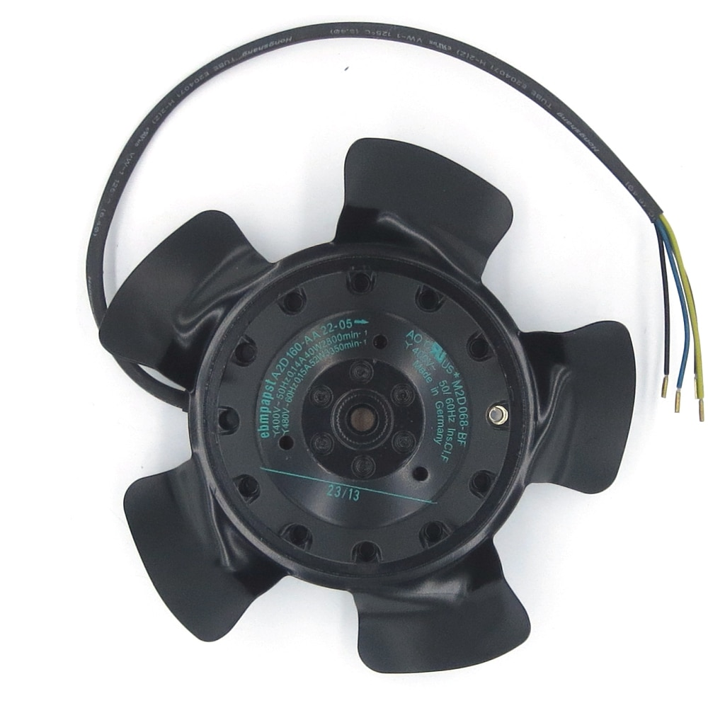 Ventilador de motor A2D160-AA22-05 de Alemania ebmpapst importado Siemens