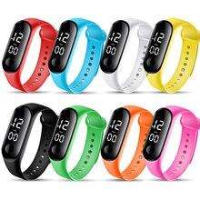 Fashion Bracelet Watch Women LED Digital Sport Girls Watches Kids Electronic Wristwatch Men Clock Re