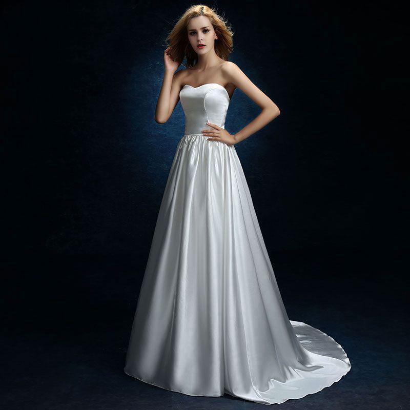 BATA de mariee De vestidos de novia bodas vestido para playa de...